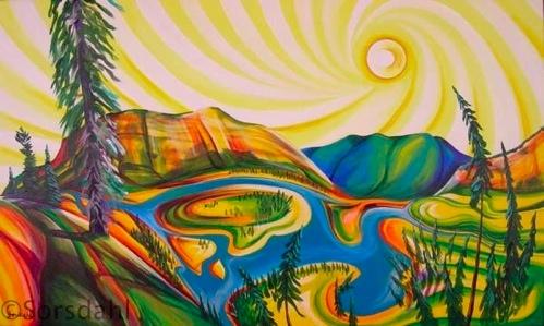 Hoodoo Trails along Bow River Banff
