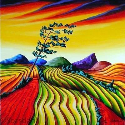 Windswept Fields IV